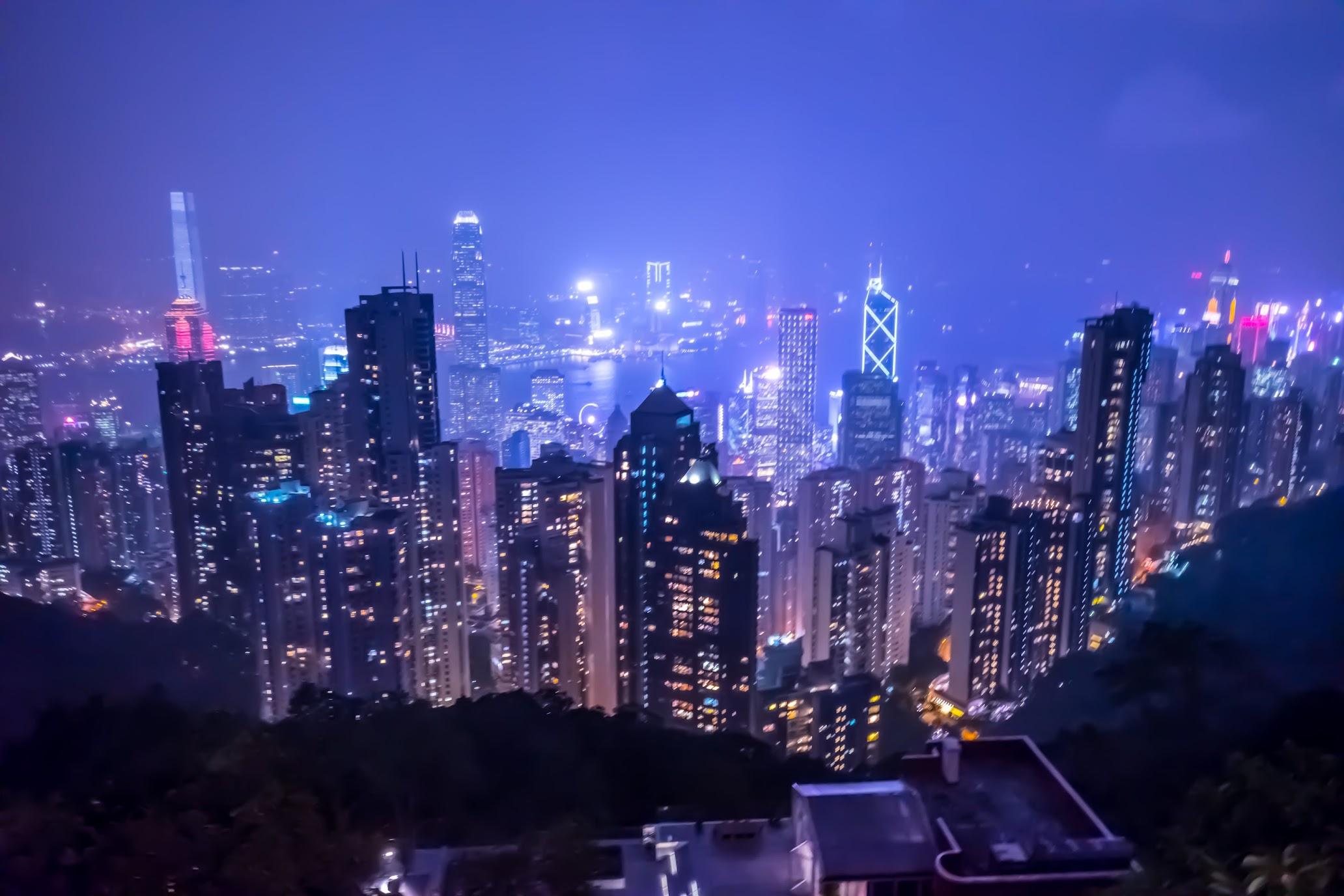 香港 ビクトリア・ピーク 夜景