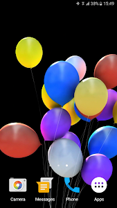 Balloons 3D Live Wallpaper screenshot 1