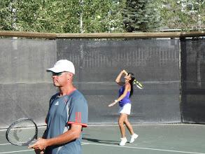 Photo: Tennis social event Audrey and Cliff Ahumada