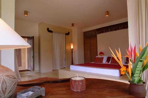 デザイン 快適で美しいベッドルーム