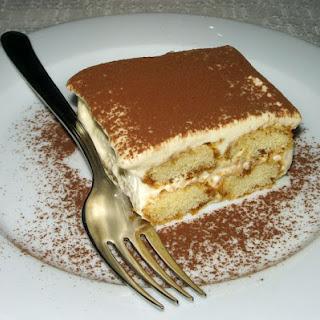 Ingredients Dessert Tiramisu