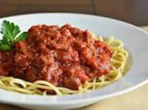 Chef's Choice Sauce For Pasta Recipe