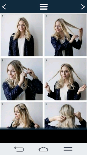 Simple hairstyles. 18.0.0 screenshots 7