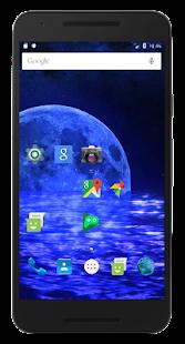 3D Galaxy Sea Live Wallpaper Transparent Screen - Apps on ...