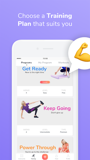 GymNadz - Women's Fitness App 2.0.95 screenshots 2