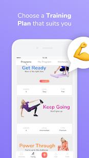 GymNadz - Women's Fitness App - náhled