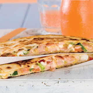 Ham and Cheese Quesadillas.