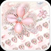 Pink Glitter Keyboard