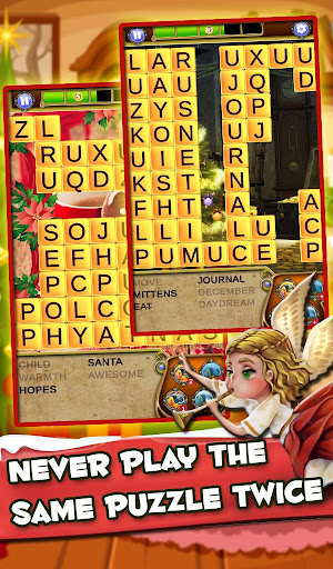 Screenshot for Xmas Word Search: Christmas Cookies in United States Play Store