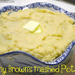 Great Granny Brown's Mashed Potatoes