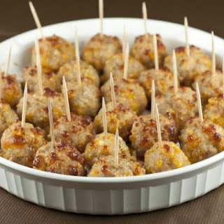 Sausage Cheese Balls Recipe