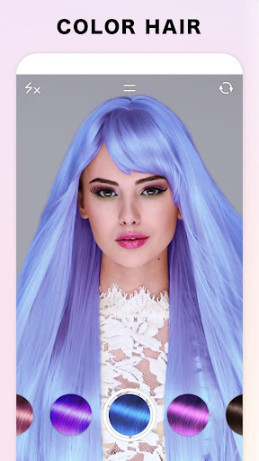 Fabby Look — hair color changer & style effects ss1