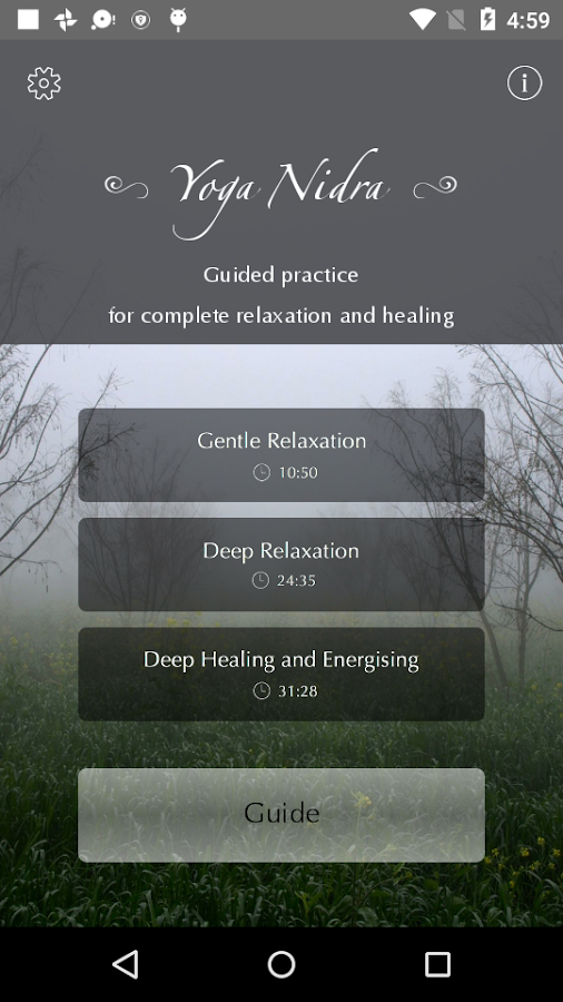 Yoga Nidra: Sacred Sleep- screenshot