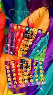 Carnival Emoji Keyboard Theme - náhled