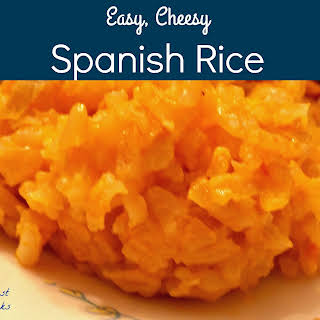 Easy Cheesy Spanish Rice.