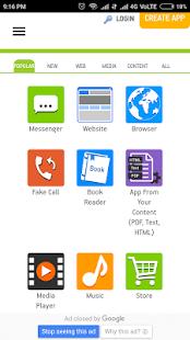 AppsGeyser Official App - náhled