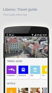 Liberec: Offline travel guide - náhled