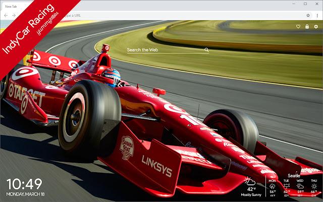 IndyCar HD Wallpapers New Tab