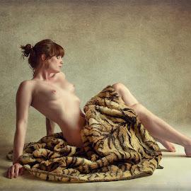 Skin on Skin by John McNairn - Nudes & Boudoir Artistic Nude ( colour, studio, scotland, model, nude, creative )