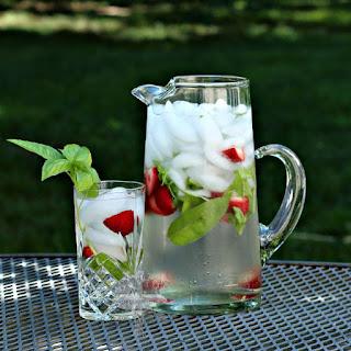 Strawberry Basil Water