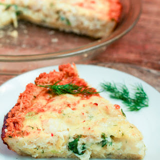 Crab & Shrimp Quiche.