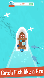 Hooked Inc Fisher Tycoon MOD APK [Unlimited Frozen Money] 2