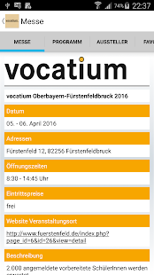 IfT vocatium- screenshot thumbnail