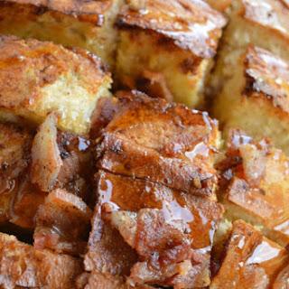 Maple Bacon Pull Apart Bread