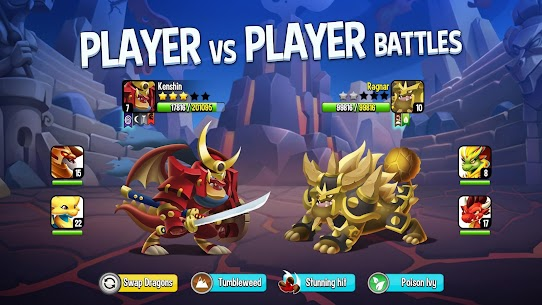 Dragon City MOD APK 10.6.1 [One Hit] 4