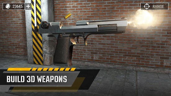 Gun Builder 3D Simulator Screenshot