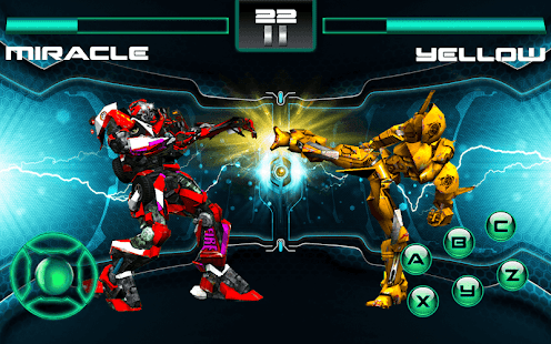 Bots Fighting - náhled