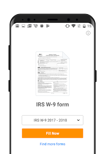 W-9 PDF Form for IRS: Sign Income Tax Return eForm App Download For Android 1