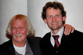 Photo: De dirigenten Bert Lassing en Marijn Slappendel