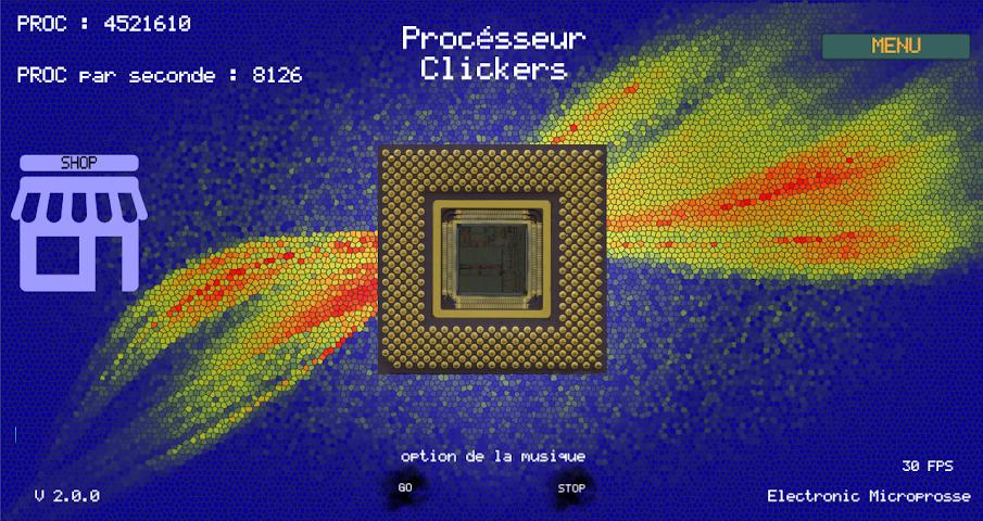 android Procésseur Clickers Screenshot 2