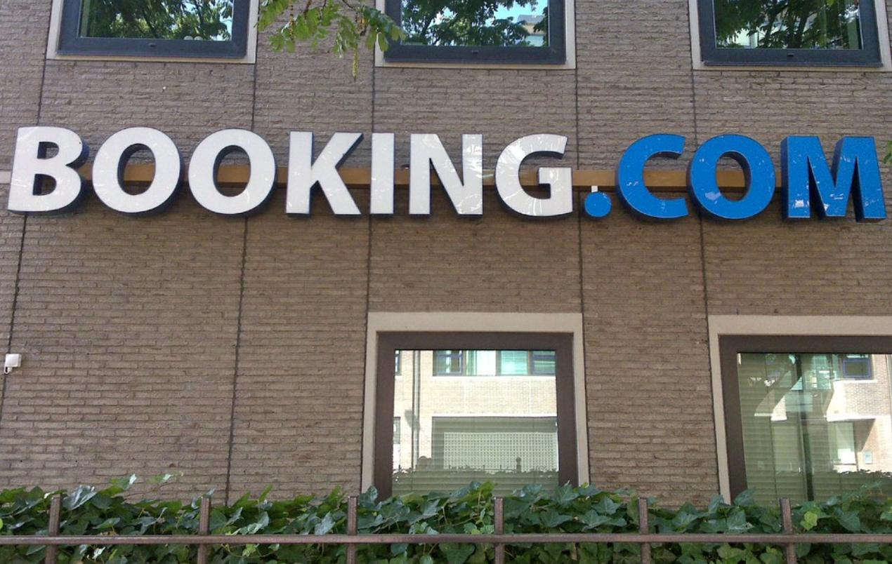 Booking.com Signage