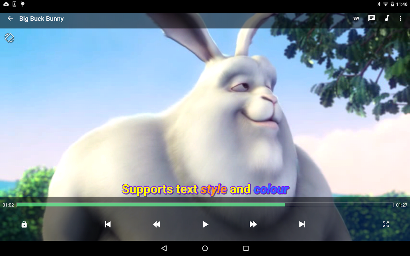 MX Player – Screenshot