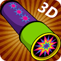 Kaleidoscope Magic Drawing 3D icon