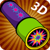Kaleidoscope Magic Drawing 3D