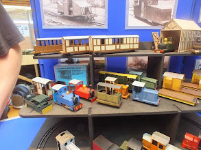 Photo: 021 A closer view of some of the Minimum Gauge Models 09 kits .