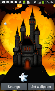 halloween živé tapety - náhled