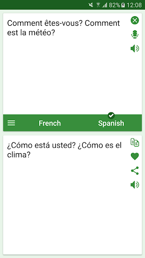 French - Spanish Translator screenshots 1