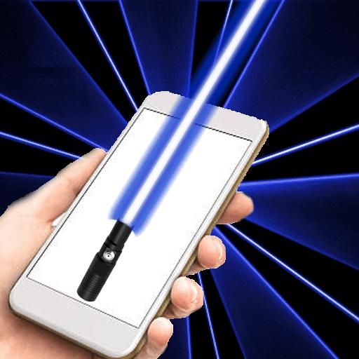 Laser Light Simulation Nice Design