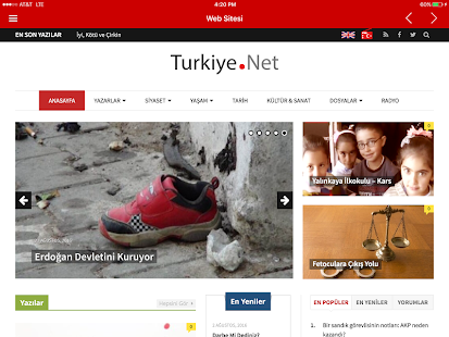 Turkiye.Net- screenshot thumbnail