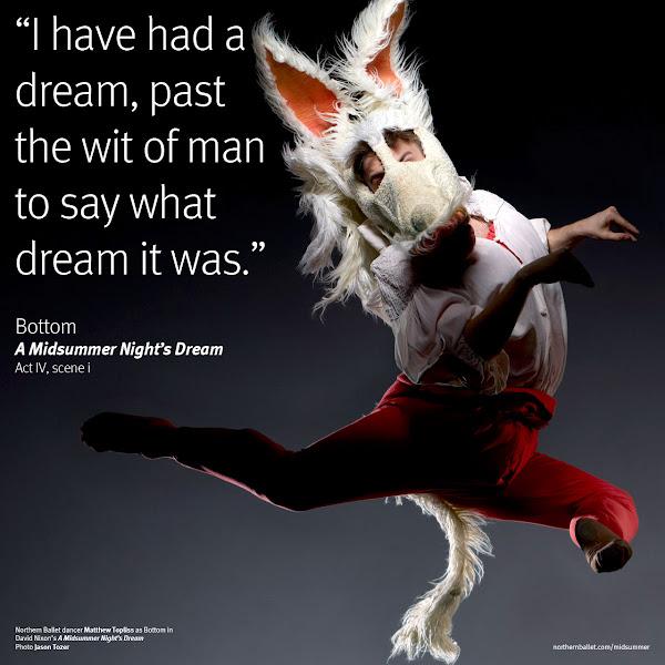 Photo: Northern Ballet dancer Matthew Topliss. Photo Jason Tozer.