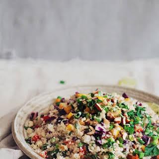 Carleen's Rice Peanut Salad.
