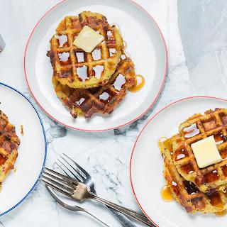Pastrami Waffles