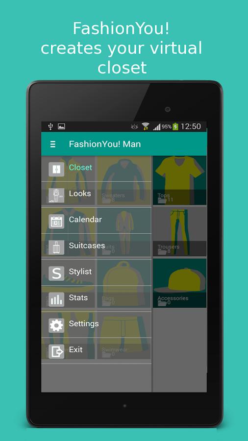 Fashion You Man Virtual Closet
