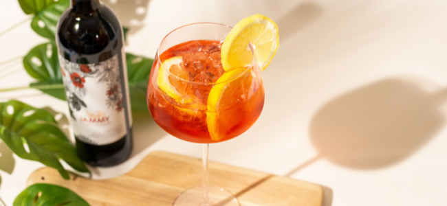Use a Sweet Vermouth to add an uncommon sweetness to your next Spritz!