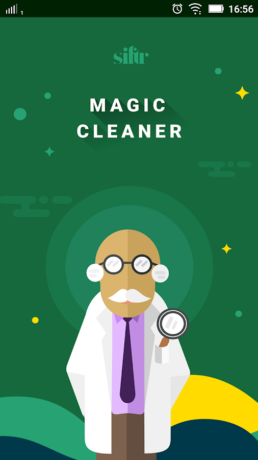 Siftr Magic Cleaner- screenshot