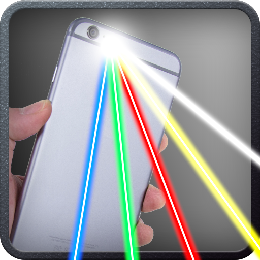 模拟のLaser Beams Phone Simulator LOGO-記事Game